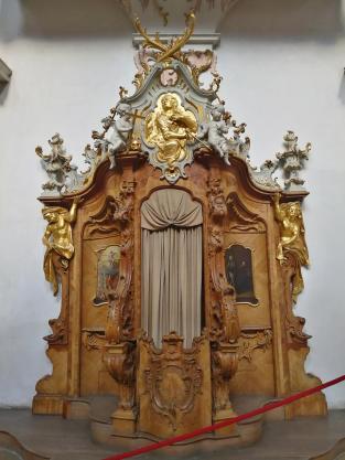 Beichtstuhl in der Klosterkirche