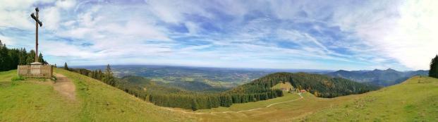 Panoramablick vom Gindelalmschneid
