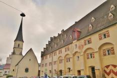 Kornspeicher der Burg