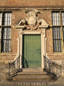 Portal an der alten 'Zisterzienserabtei Bijloke