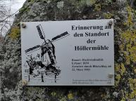 Wir starten am Standort der alten Höllermühle