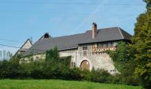 Burg Eyneburg in Hergenrath bei Kelmis, eines der bedeutendsten historischen Gebäude Ostbelgiens