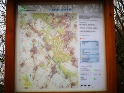 Ein beliebtes Wasser- und Freizeitrevier im Westen von Köln: Der Otto-Maigler-See
