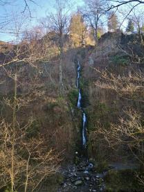 Der höchste Wasserfall Belgienes