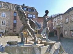 Skulpturenbrunnen auf dem Alter Markt