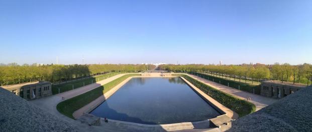 Panoramablick über den See der Tränen