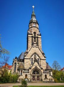 Michaelskirche am Nordplatz in der Nähe des Zoos