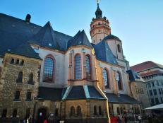 Die berühmte Nicolai-Kirche - hier begann das Ende der DDR