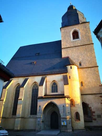 St. Petri-Pauli, Luthers Taufkirche