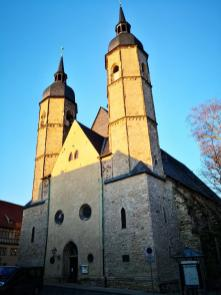 Frontseite der Andreaskirche