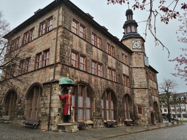 Das Alte Rathaus mit dem Roland