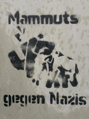 Auch die Antifa ist in Nordhausen aktiv
