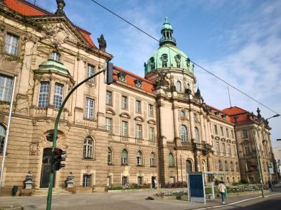 Potsdamer Stadthaus, das heutige Rathaus von Potsdam