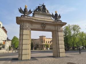 Das Jägertor Potsdam an der Hegelallee