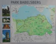 Infotafel am Park Babelsberg