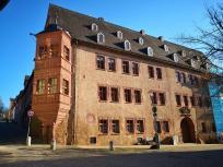 Das Neue Schloss, heute Sitz des Amtsgerichts