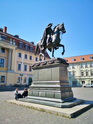 Karl August von Sachsen-Weimar-Eisenach Reiterstandbild