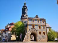 Seitenansicht auf das Alte Schloss