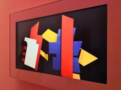 Die mechanische Bauhausbühne - Video in der Bauhaus-Ausstellung in Weimar