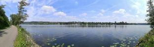 Panoramablick auf den Baldeneysee
