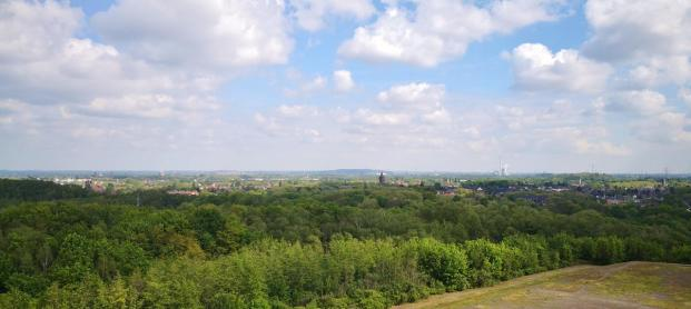 Weite Blicke ins Ruhrgebiet