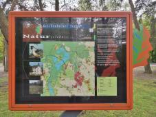"""Infotafel am Naturschutzgebiet """"Krickenbecker Seen"""""""
