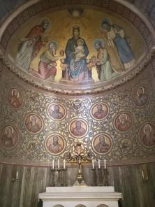 Mosaik im Seitenschiff