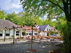 """Am Auslufgslokal """"Waldfrieden"""" in der Bockerter Heide"""