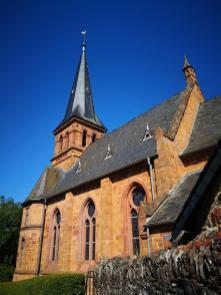 Evangelische Pfarrkirche unterhalb der Saarburg