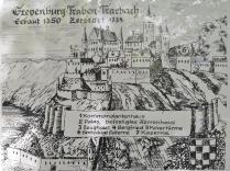 Infotafel an der Grevenburg
