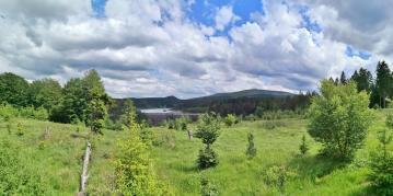 Panoramabild vom Grenzweg