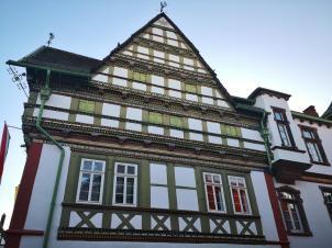 Seitenansicht des Alten Rathaus
