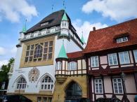 Das Bomann-Museum zwischen Schloss und Altstadt