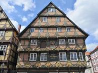 Das Hoppener Haus, eines der bekanntesten Fachwerkhäuser in der Altstadt von Celle
