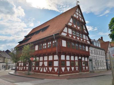 Das Alte Rathaus, genutzt von 1562 bis 1924