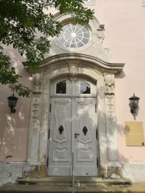 Portal an der Nicolaikirche