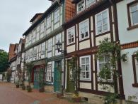 Hitorische Häuser in der Knollenstraße