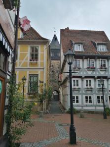 Schmale Altstadtgasse am Kehrwiederturm
