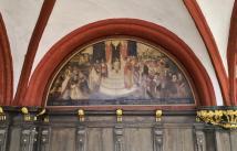 Malerei am Rathaus