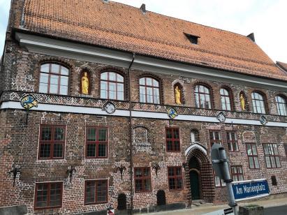 Rückwärtiges Gebäude des Rathaus-Karrees