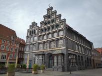 """Ein herausragendes Beispiel norddeutscher Backsteinarchitektur – """"der Schütting"""", heute Sitz der Industrie- und Handelskammer"""