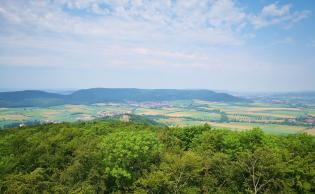 Blick vom Lönsdorf in Richung des Ith