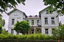 Holzhaus am Rosenwall, der früheren Stadtbefestigung