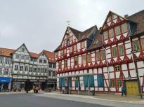Häuser an der Marienkirche