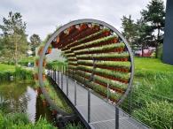 Blick in den Gartentunnel