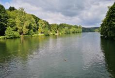Blick auf den Beyenburger Stausee