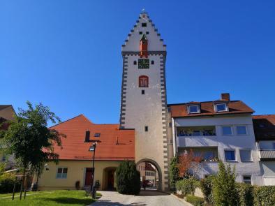 Das Wurzacher Tor - Außenseite