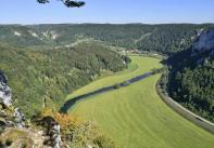 Blick von der Lenzenburg stromaufwärts