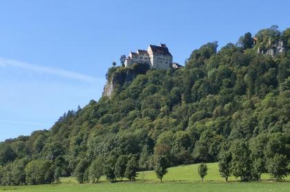 Burg Wildenstein zwischen Beuron und Hausen im Tal