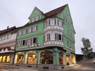 Markantes Haus an der Hauptstraße von Gammerringen